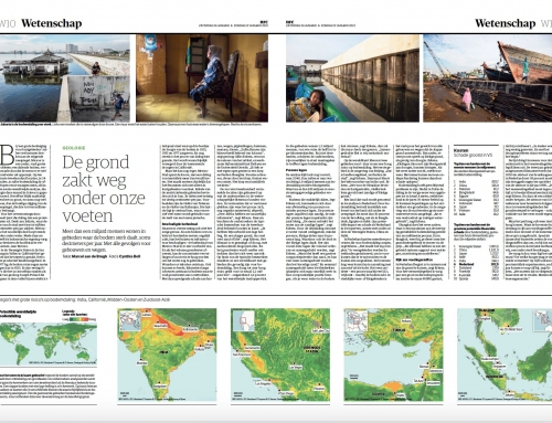 Publication NRC 'De grond zakt weg onder onze voeten'