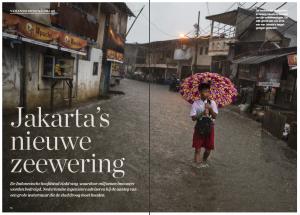 Jakarta' s nieuwe zeewering