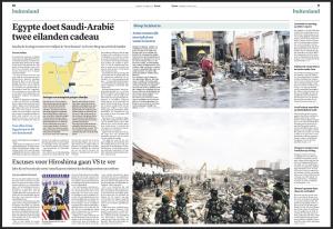 publication dagblad Trouw